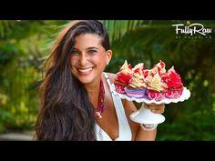 Strawberry Shortcake Cupcakes! FullyRaw & Vegan! - YouTube