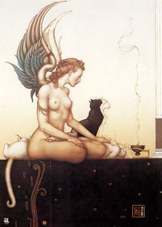 Morning by Michael Parkes
