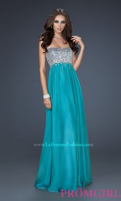 Long Prom Dress Style: LF-17058 Front Image