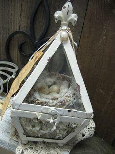 Treasures from the Heart: bird nests