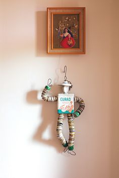 Bottle cap man by Kenny Chavez.