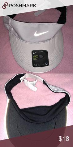 6f5999e6be2 Nike Unisex Tailwind Visor Hat white Adult Unisex Nike Running Tailwind  Visor Hat Nike Accessories Hats