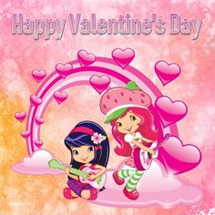 Share Pictures, Animated Gifs, Valentines Day Hearts, Strawberry Shortcake, Hello Kitty, Fictional Characters, Monsters, Valentines Day, Fantasy Characters