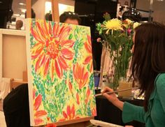 Oh that Rebecca- she's so talented! I am a fortunate gal to have a custom painting by Rebecca