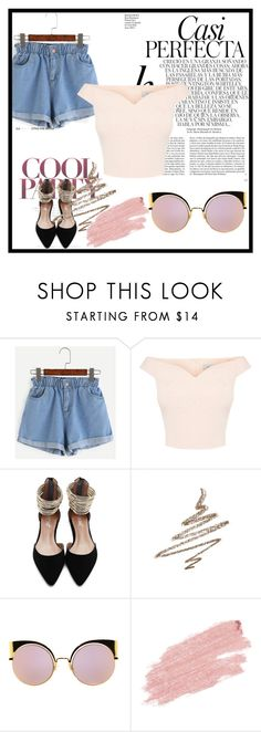 """""""Untitled #586"""" by love-torie on Polyvore featuring Anastasia Beverly Hills, Fendi, Jane Iredale and Whiteley"""
