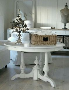 Paint the hall table....cheap and cheerful