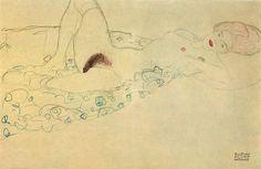 Gustav Klimt Drawings | 1000x1000.jpg