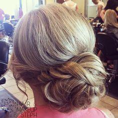 #Hair and Make-up by Steph bridal bun