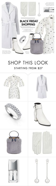 """""""Steal These Deals: Black Friday"""" by voguebits ❤ liked on Polyvore featuring Rasario, Steve Madden, Milma, Valentino and Christian Dior"""