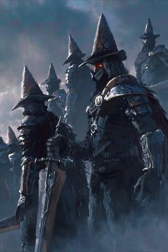 Medieval Fantasy, Dark Fantasy, Fantasy Art, Samurai Concept, Arte Dark Souls, Dark Blood, Bloodborne, Soul Art, Fantasy Warrior