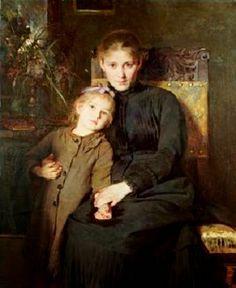 Madre e hija. Wegman