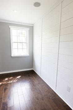 New Master: Paint, Trim & Plank Wall | Jenna Sue Design Blog