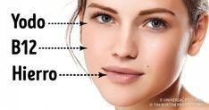 5 síntomas de falta de vitaminas que pueden apreciarse claramente en el rostro – Hoy Aprendí Salud
