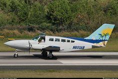 N603AB Air Sunshine Cessna 402C taken 20. Jan 2011 at Roadtown/Beef Island Airport on Tortola, BVI