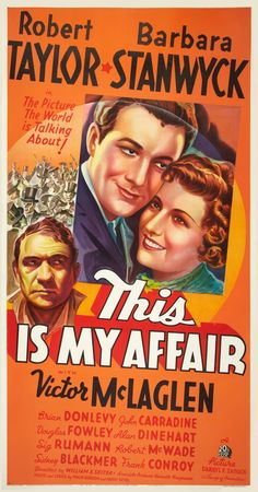 In this fact-based film, Lt. Richard Perry (Robert Taylor), a distinguished Naval officer, is recruited by President McKinley to infiltrate a ring of thugs. Meanwhile, Richard falls for Lil Duryea (Barbara Stanwyck), but he can't tell her his true identity. When the gang is busted during a holdup, Richard lands in jail. Unfortunately, McKinley is assassinated before he can pardon the undercover man. In order to clear his name, Richard must now tell Lil that he has never been truthful with…