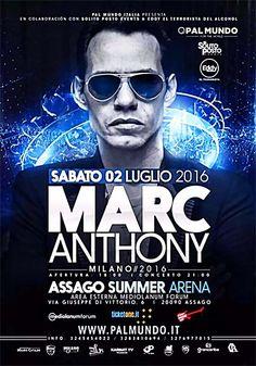 Salsa.it! News - MARC ANTHONY IN CONCERTO A MILANO IL PROSSIMO 2 LUGLIO