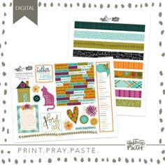 Blessed Home - Illustrated Faith Faith Bible, Illustrated Faith, Ephemera, Pray, Original Art, Blessed, Bullet Journal, Illustration, Journaling