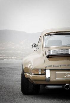 Porsche , sand color