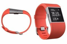 NEW!! Fitbit Surge Silver Fitness Super Watch with GPS Tracking, Small Tangerine #Fitbit
