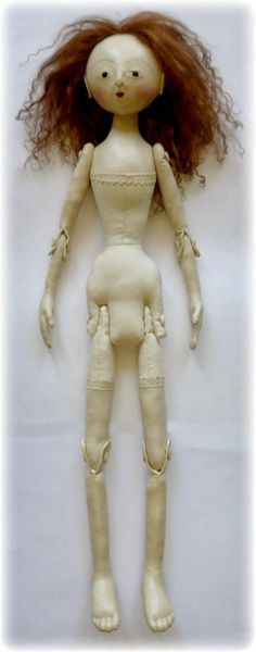 jointed cloth doll