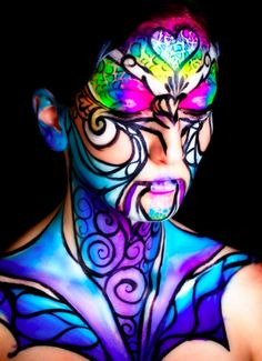 Extreme MakeUp, Body Paint & Portraits - JJ Face & Body Art, jjbodyart.webs.com