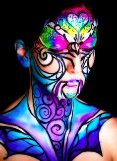 Extreme MakeUp, Body Paint & Portraits - JJ Face & Body Art, jjbodyart.webs.com