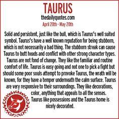 Zodiac Taurus Quotes by @quotesgram