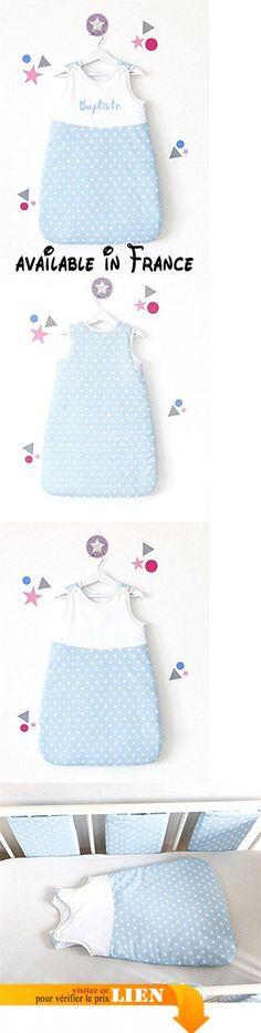 Gigoteuse bébé, personnalisable, en coton et doublée, taille 0-6 mois.  #Guild Product #GUILD_HOME