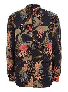 98e76149af7 Gucci floral print shirt
