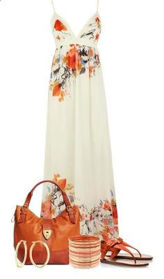Loving the large rose print on this pretty dress...although I'd need it in petite!