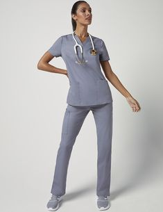 Straight Leg 4 Pocket Pant in Black is a contemporary addition to women's medical scrub outfits. Shop Jaanuu for scrubs, lab coats and other medical apparel. Doctor Scrubs, Scrubs Outfit, Lab Coats, Petite Pants, Medical Scrubs, Scrub Pants, Fashion Pants, Normcore, Nurse Life