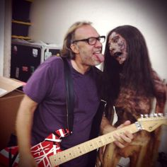Greg Nicotero and friend - 9/14/12 (tweeted by Norman Reedus)