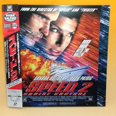 Speed 2: Cruise Control (1997) PILF-2522 LaserDisc LD NTSC w/OBI Japan EA001