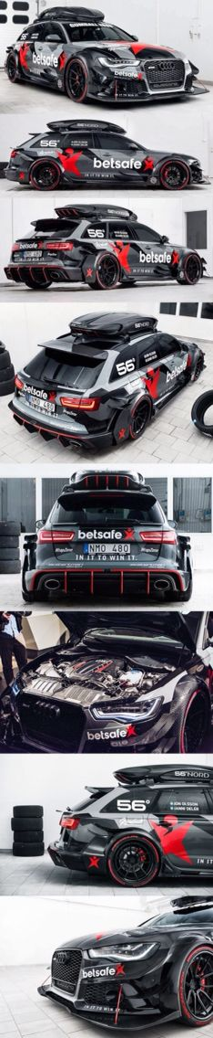Audi RS6 #Audi #GreaseGarage #RS6 #Weapon #EDM
