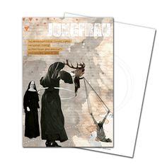 Gruß- und Postkarte: Jungfrau