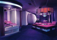 Habitat of the future design by Joe Colombo for Bayer, Visiona I, 1969