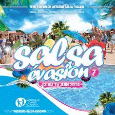 Week-end SALSA EVASION 7e édition ! Un week-end de folie organisé par Marseille Danse Academy