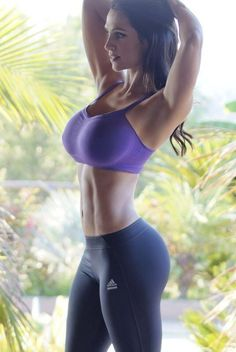 Reach your fitness goals this year with ... Seriously, this is a fitness add??? Lawd!!! BOOBIES!!!!!!
