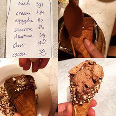 How To Make Gelato, Sugar Cones, Ice Cream, Homemade, Instagram, Desserts, Food, No Churn Ice Cream, Tailgate Desserts