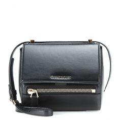 Givenchy - Pandora Box Mini leather shoulder bag - mytheresa.com