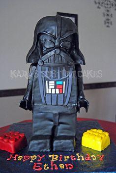 Awesome lego cake!!