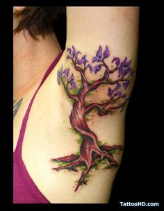 acacia tree tattoo , Tree Tattoos