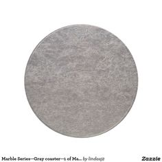 Marble Series--Gray coaster--1 of Many Colors Drink Coaster