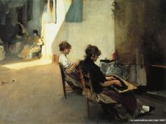 John Singer Sargent Art Paintings (Vol.02)  : Oil Paintings, Watercolors Paintings and Portraits