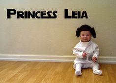 DIY - Baby Princess Leia Costume