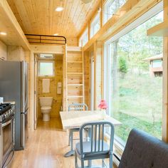 The company's tiny Atlanta-based home is 269 square feet and sleeps up to six people. Choose from the city, mountains, or along the Atlanta Beltline, and your mobile rental will be transported there. With amenities like a fireplace, big-screen TV, and washer and dryer, the Escape Traveler is an idyllic getaway no matter where it's situated. Prices start at $150 per night.
