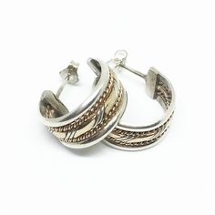 Sterling Silver and Gold Filled Native by CarolynsTreasure on Etsy