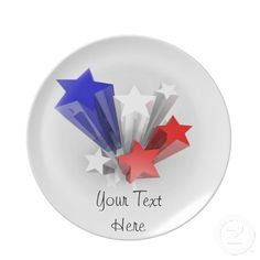 Plate with stars $24.95