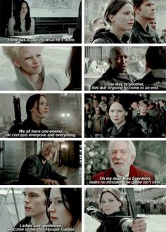 """""""Snow has to pay for what he's done"""" - #TheHungerGames: #MockingjayPart2"""
