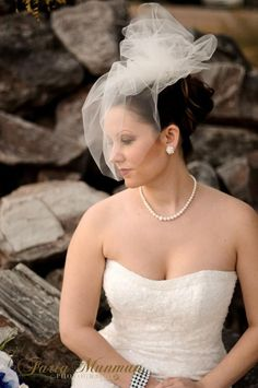 Items similar to Tulle birdcage veil bridal veil blusher veil with pouf short blusher veil wedding veil bridal veil caged veil pouf on Etsy Beauty Hacks Lips, Beauty Tips For Skin, Bridal Headpieces, Bridal Hair, Homemade Blush, Blusher Tips, Diy Beauty Secrets, Wedding Veils, Wedding Hair